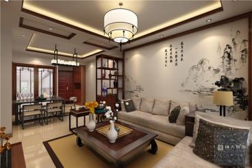 中天未来方舟94平三室二厅装修效果图