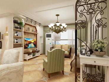 磐龙世纪城全包三室二厅装修效果图