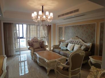 中正锦城小区三室二厅欧式古典装修效果图