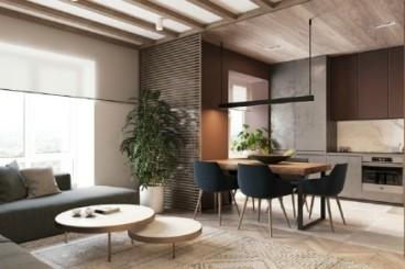 龙湖锦艺城全包二室二厅装修效果图