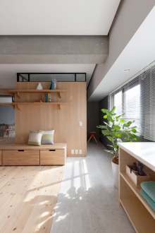 理想公园二室二厅全包装修效果图