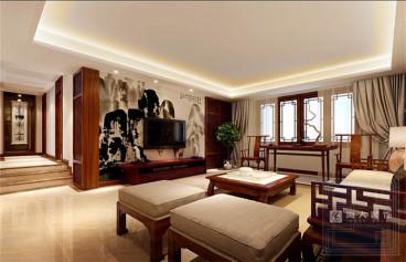 山水黔城四室二厅全包装修效果图