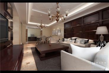 保利云山国际四室二厅140平装修效果图