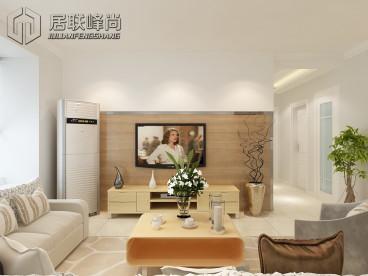 中海国际社区108平现代简约装修效果图