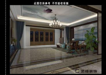西鸭池200平四室二厅装修效果图