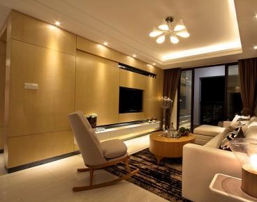 愿景河之洲全包三室二厅装修效果图