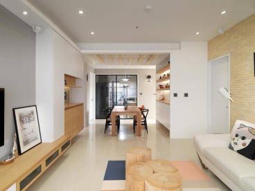 正商金域世家全包二室二厅装修效果图