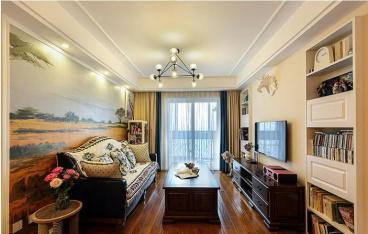 普华浅水湾89平二室二厅装修效果图