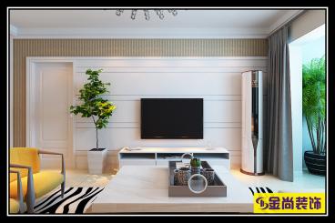 宏瑞国际城139平三室二厅装修效果图
