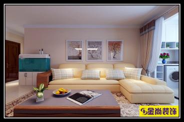 银丰唐郡荷花园147平四室二厅装修效果图