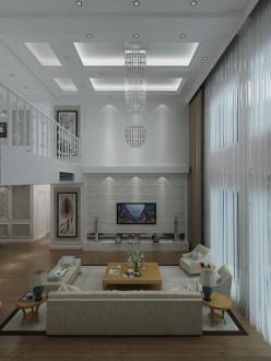 威海花苑六室三厅半包装修效果图