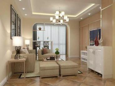 白鹭湖润园二室二厅全包装修效果图