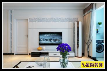 绿地城三室二厅99平装修效果图