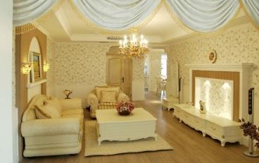 雅居乐国际花园二室一厅92平装修效果图