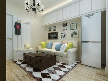 溪绣苑半包一室一厅装修效果图