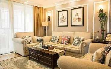 北京如意国际花园三室二厅全包装修效果图