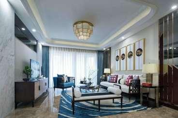 建华玖珑湾全包三室二厅装修效果图