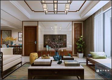 阅山湖四室二厅125平装修效果图