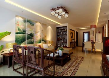 珠江御景三室二厅140平装修效果图