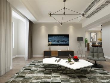 东亚风尚国际三室二厅半包121平装修效果