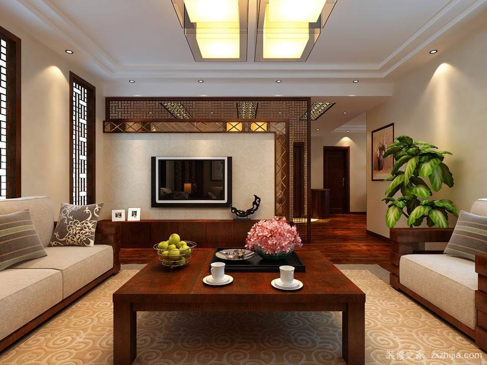 和平路 中国人寿纯设计三室二厅装修效果图