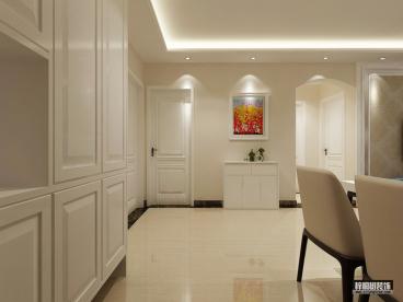 万象新天90平二室一厅装修效果图