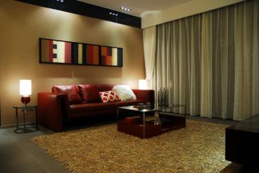金域缇香三室一厅现代简约装修效果图