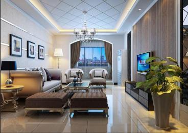 富康苑二室二厅现代简约全包装修效果图