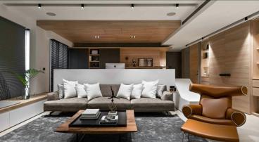 天下锦城三室二厅现代简约全包装修效果图