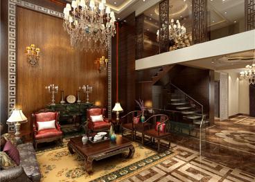奥东印象城半包五室二厅装修效果图