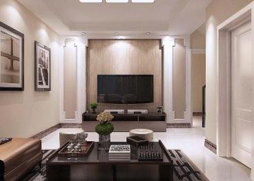 吉恒园四室二厅现代简约装修效果图