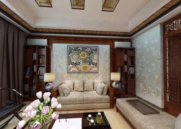 志诚名苑全包三室二厅装修效果图