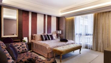 龙樾熙城全包三室一厅装修效果图