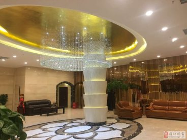 艾丽酒店全包新中式装修效果图