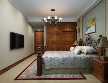 上林苑120平三室二厅装修效果图