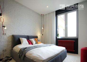 康安里住宅区二室一厅61平装修效果图
