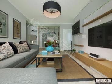 龙湖明景台三室二厅150平装修效果图
