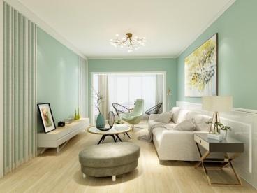 暖山国际城三室二厅107平装修效果图