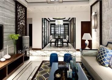 绿地国际博览城全包三室二厅装修效果图