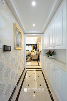 赞成首府三室二厅欧式古典装修效果图
