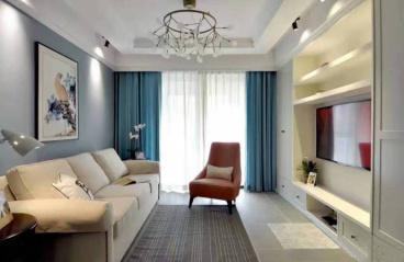 万锦城美式二室一厅装修效果图