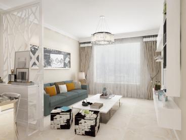 中海城二室一厅78平装修效果图