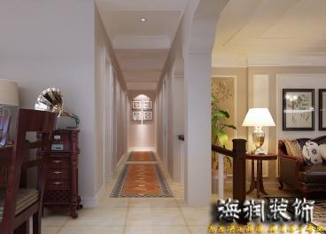 心海假日120平三室一厅装修效果图