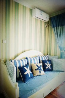 保利东湾地中海三室一厅装修效果图