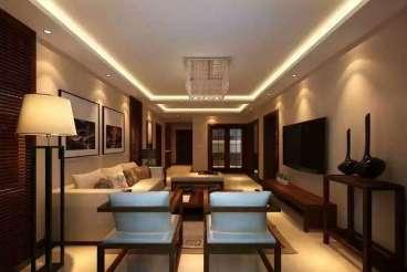 越秀星汇蓝海全包三室一厅装修效果图