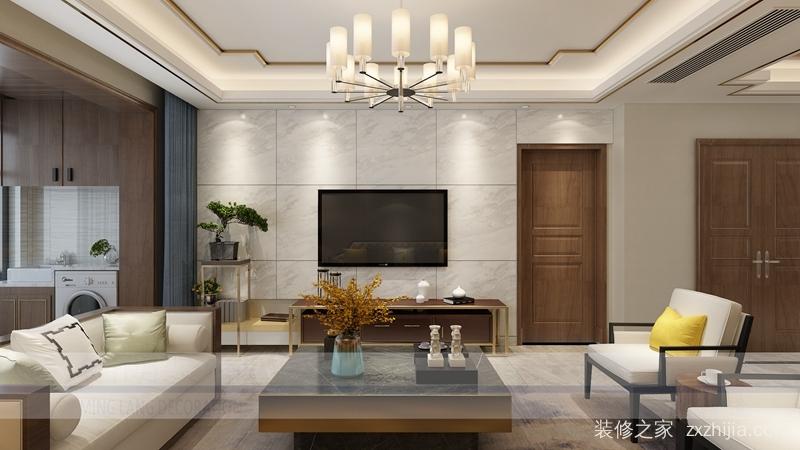 九州城三室二厅全包装修效果图