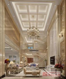 海逸豪庭别墅欧式古典六室二厅装修效果图
