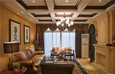宏达世纪锦城两室两厅128平田园风格全包