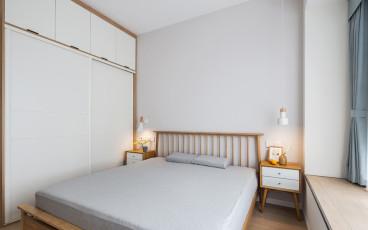 拉德芳斯二室一厅半包装修效果图