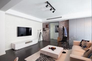 文化名邸三室二厅130平装修效果图